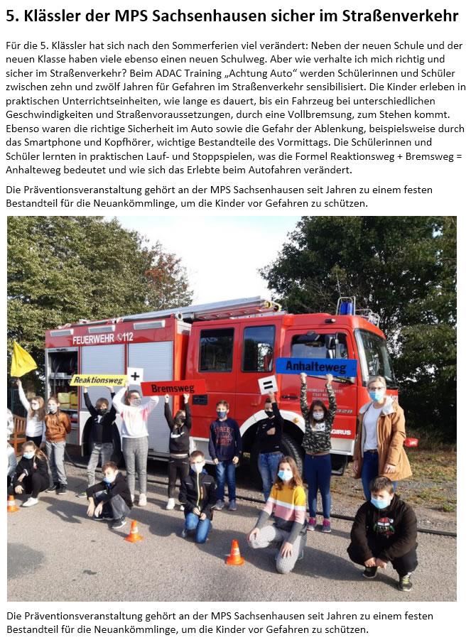 2020 09 14 Fuenftklaessler Strassenverkehr