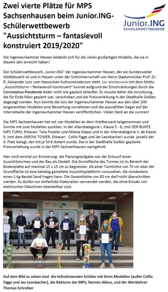 2020 10 20 Hessenweiter Ingenieurswettbewerb