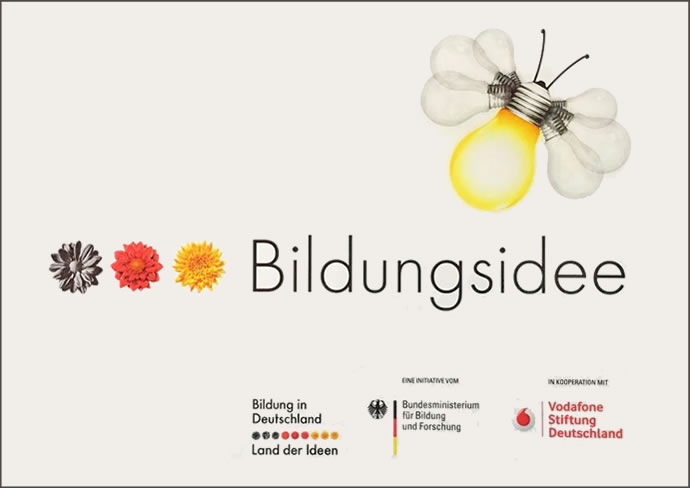 Logo Plakette Bildungsidee
